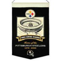 NFL Pittsburgh Steelers Three Rivers Stadium Banner