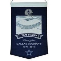 NFL Dallas Cowboys Texas Stadium Banner