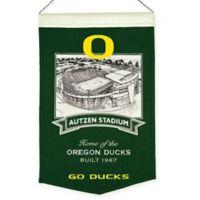 University of Oregon Autzen Stadium Banner