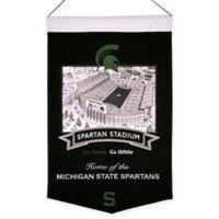 Michigan State Spartans Spartan Stadium Banner