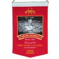 Iowa State University Hilton Coliseum Stadium Banner