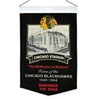 NHL Chicago Blackhawks Stadium Banner