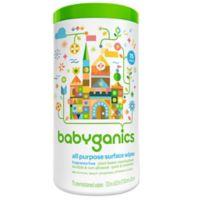 Babyganics® 75-Count Fragrance-Free All-Purpose Wipes