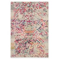 Safavieh Monaco Checkered 5-Foot 1-Inch x 7-Foot 6-Inch Area Rug in Grey Multi