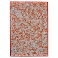 Feizy Cerys Tangerine 5-Foot x 8-Foot Area Rug in Orange