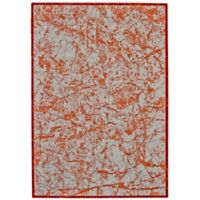 Feizy Cerys Tangerine 8-Foot x 11-Foot Area Rug in Orange