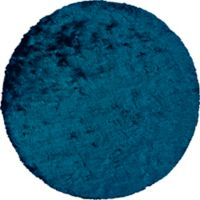 Feizy Isleta 8-Foot Round Area Rug in Teal