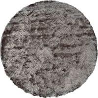 Feizy Isleta 8-Foot Round Area Rug in Grey
