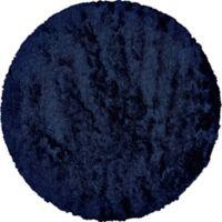 Feizy Isleta 8-Foot Round Area Rug in Dark Blue