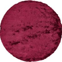 Feizy Isleta 8-Foot Round Area Rug in Cranberry