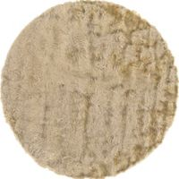 Feizy Isleta 8-Foot Round Area Rug in Cream