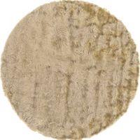 Isleta 8-Foot Round Area Rug in Cream