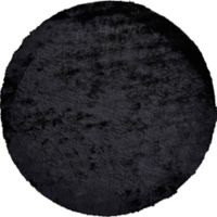 Feizy Isleta 10-Foot Round Area Rug in Black