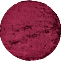Feizy Isleta 10-Foot Round Area Rug in Cranberry