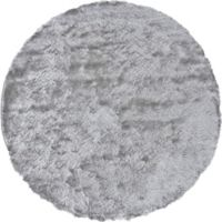 Feizy Isleta 10-Foot Round Area Rug in Silver