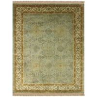 Feizy Alegra 2-Foot x 3-Foot Accent Rug in Green/Beige