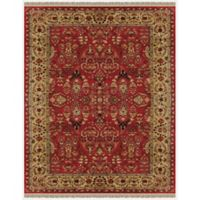 Feizy Alegra 2-Foot x 3-Foot Accent Rug in Red