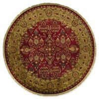 Feizy Alegra 8-Foot Round Rug in Red