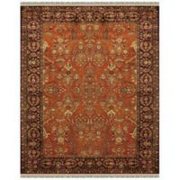 Feizy Alegra 2-Foot x 3-Foot Accent Rug in Cinnamon/Plum
