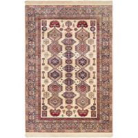 Shiravan 3-Foot 11-Inch x 5-Foot 7-Inch Area Rug in Ivory/Red