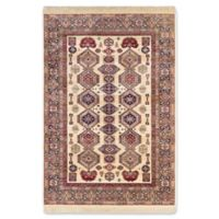 Shiravan 5-Foot 1-Inch x 7-Foot 7-Inch Area Rug in Ivory/Red