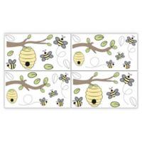 Sweet Jojo Designs Honey Bee Wall Decals