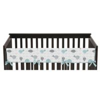 Sweet Jojo Designs Earth and Sky Reversible Long Crib Rail Cover
