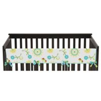 Sweet Jojo Designs Layla Long Crib Rail Crib Guard Cover