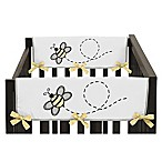 Sweet Jojo Designs Honey Bee Side Crib Rail Covers (Set of 2)