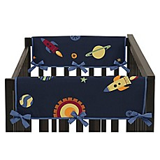 sweet jojo designs space galaxy crib bedding collection - buybuy baby