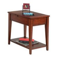 Chairside 1-Drawer Table in Light Brown