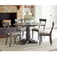 Muses Round Dining Collection in Pepper