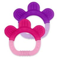 green sprouts® by i play.® Sili Paw Girls Teether (2-Pack)