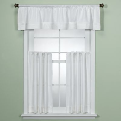 Charmant Maison White Kitchen Valance
