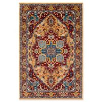 Surya Anika Diamond 2-Foot x 3-Foot Accent Rug in Red