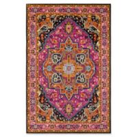 Surya Anika Diamond 2-Foot x 3-Foot Accent Rug in Bright Pink