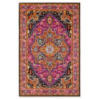 Surya Anika Diamond 5-Foot 3-Inch x 7-Foot 3-Inch Area Rug in Bright Pink