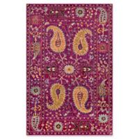 Surya Anika 5-Foot 3-Inch x 7-Foot 3-Inch Area Rug in Purple