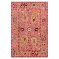 Surya Anika 5-Foot 3-Inch x 7-Foot 3-Inch Area Rug in Bright Pink