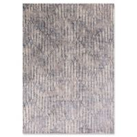 KAS Provence Illusions Viscose 5-Foot 3-Inch x 7-Foot 7-Inch Area Rug in Grey Blue