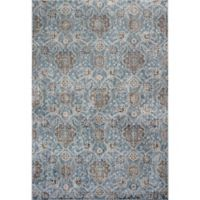 KAS Allover Kashan Provence 2-Foot 2-Inch x 3-Foot 7-Inch Accent Rug in Slate
