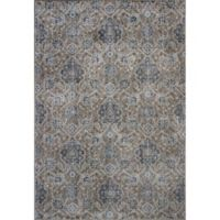 KAS Allover Kashan Provence 3-Foot 3-Inch x 4-Foot 7-Inch Accent Rug in Sand