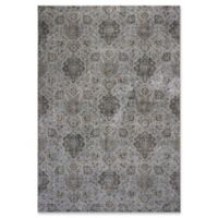 KAS Allover Kashan Provence 5-Foot 3-Inch x 7-Foot 7-Inch Area Rug in Silver
