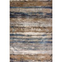 KAS Provence Landscape 2-Foot 2-Inch x 3-Foot 7-Inch Accent Rug in Ivory/Blue