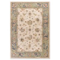 Bob Mackie Home Vintage Mahal 5-Foot 3-Inch x 7-Foot 7-Inch Area Rug in Sand/Seafoam