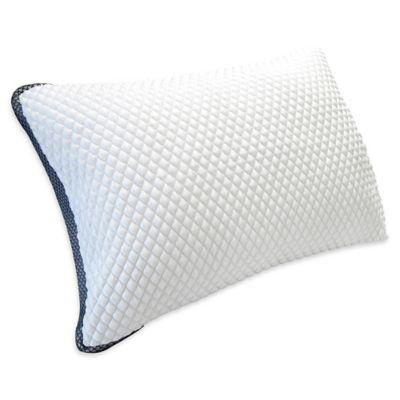 therapedic trucool down alternative side sleeper pillow in white