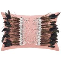 Safavieh Kalahari Jewel and Feather Oblong Throw Pillow