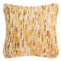 Safavieh All Over Weaving Square Throw Pillow in Tuscan