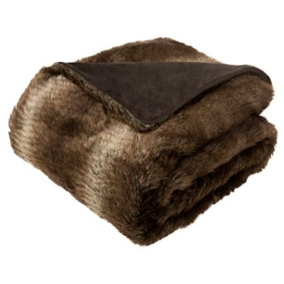 Brand new Buy Chocolate Brown Blankets from Bed Bath & Beyond AY91
