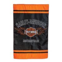 Harley Davidson Applique House Flag